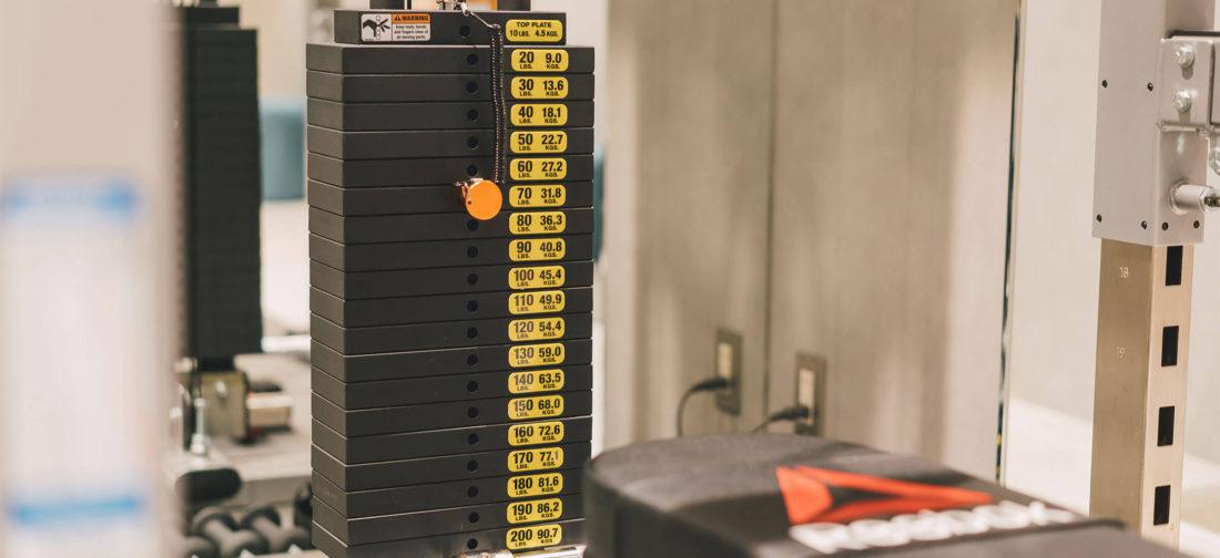 UNDEUX銀座スタジオのトレーニング機器2