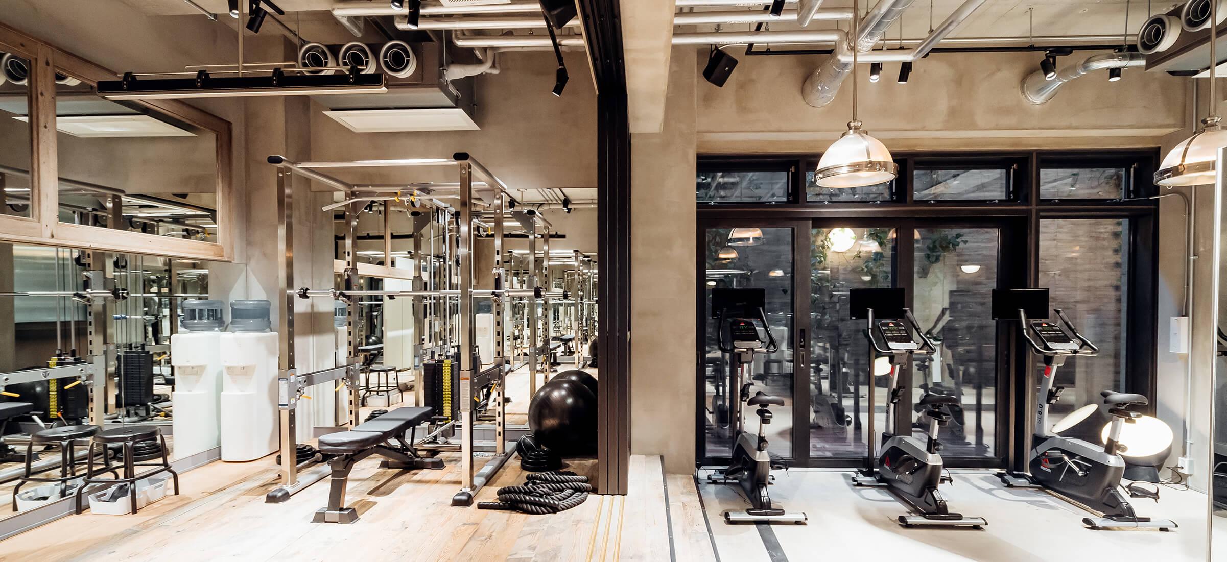 UNDEUX恵比寿スタジオのトレーニングスペース2