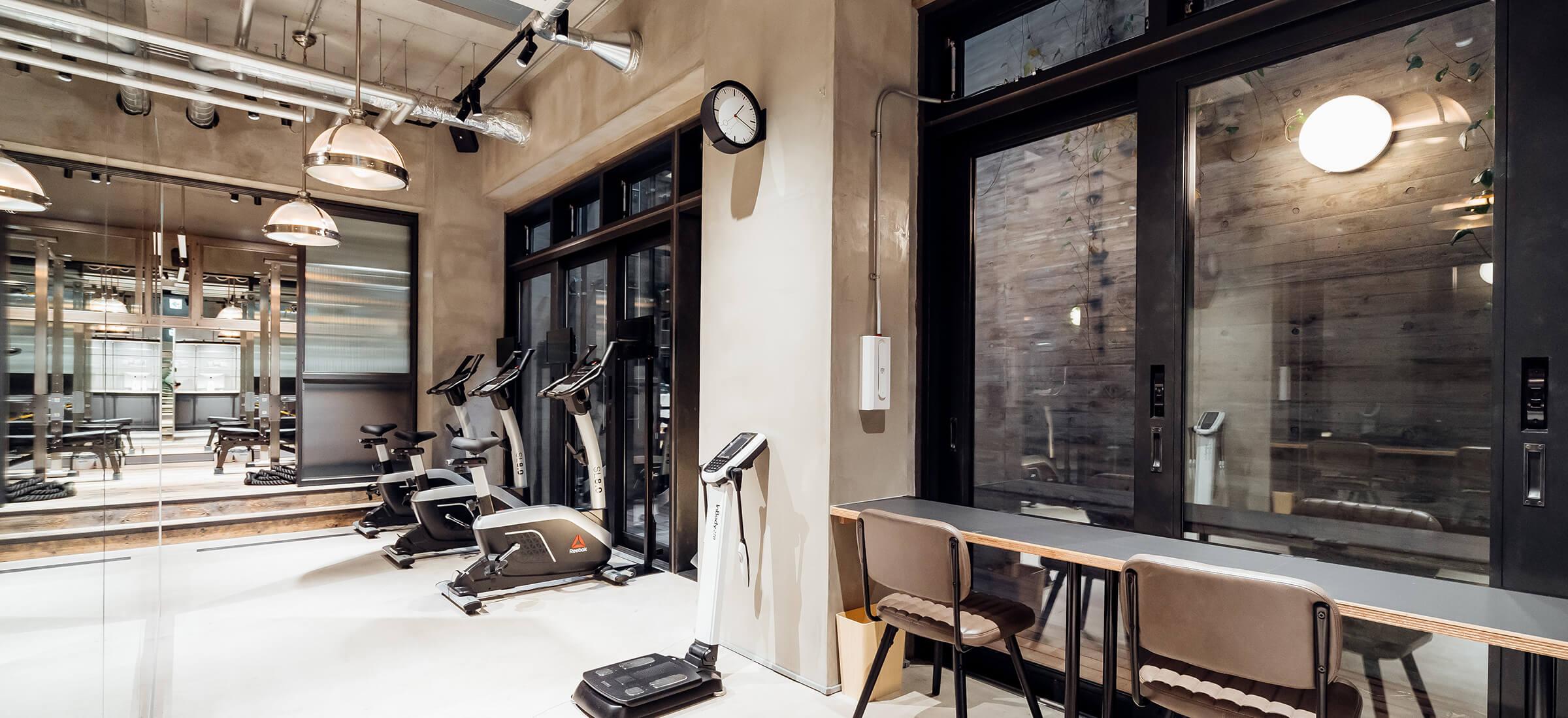 UNDEUX恵比寿スタジオのトレーニングスペース3