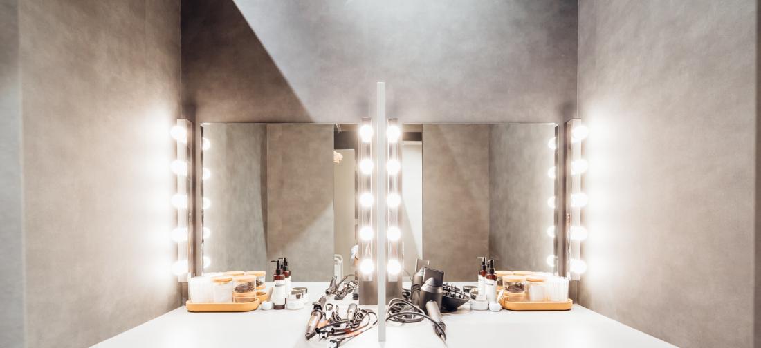 UNDEUX恵比寿スタジオのパウダールーム