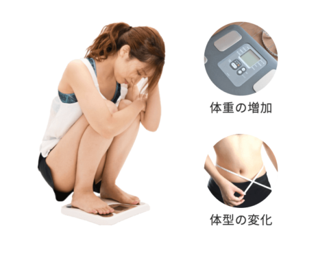 産後、体重の変化以上に体型の変化にも悩む