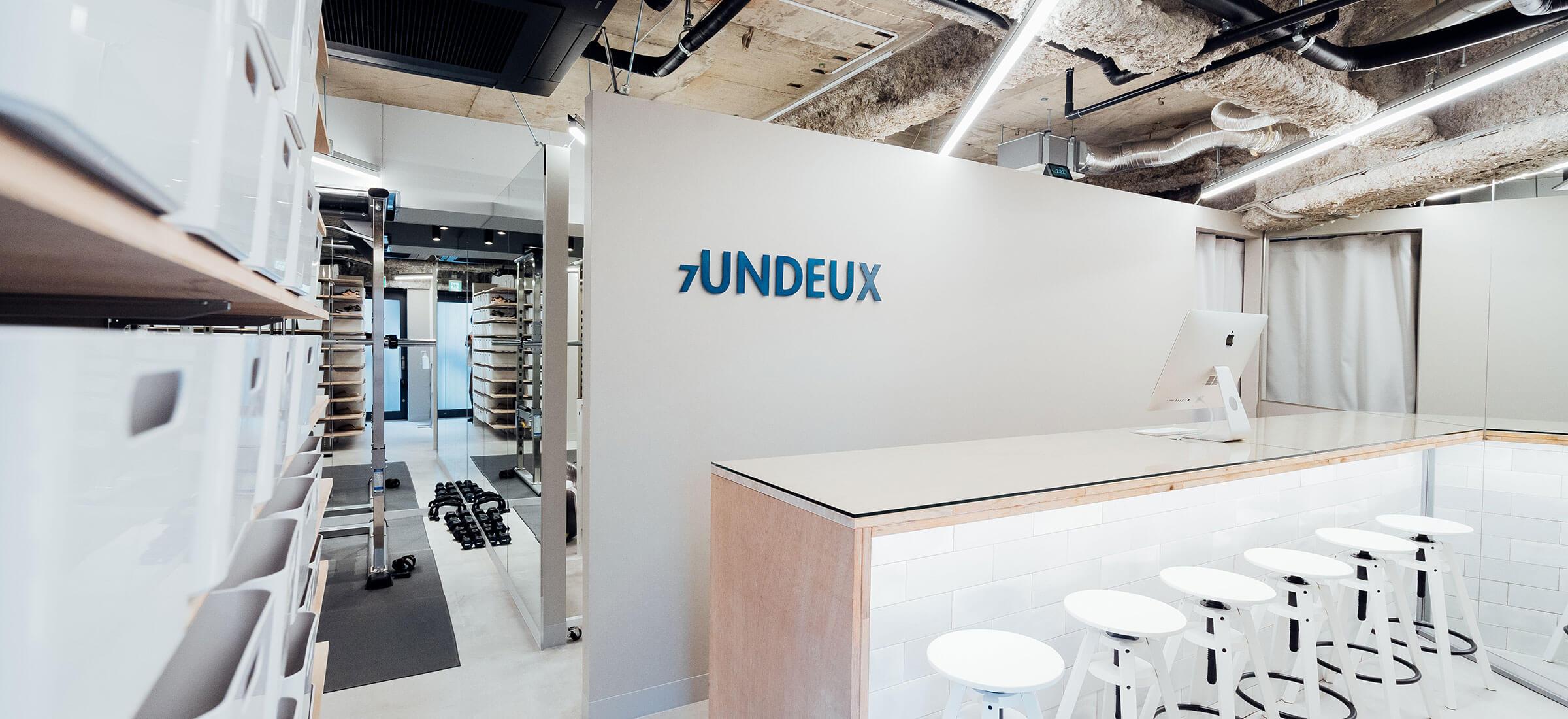 UNDEUX横浜スタジオのカウンタースペース