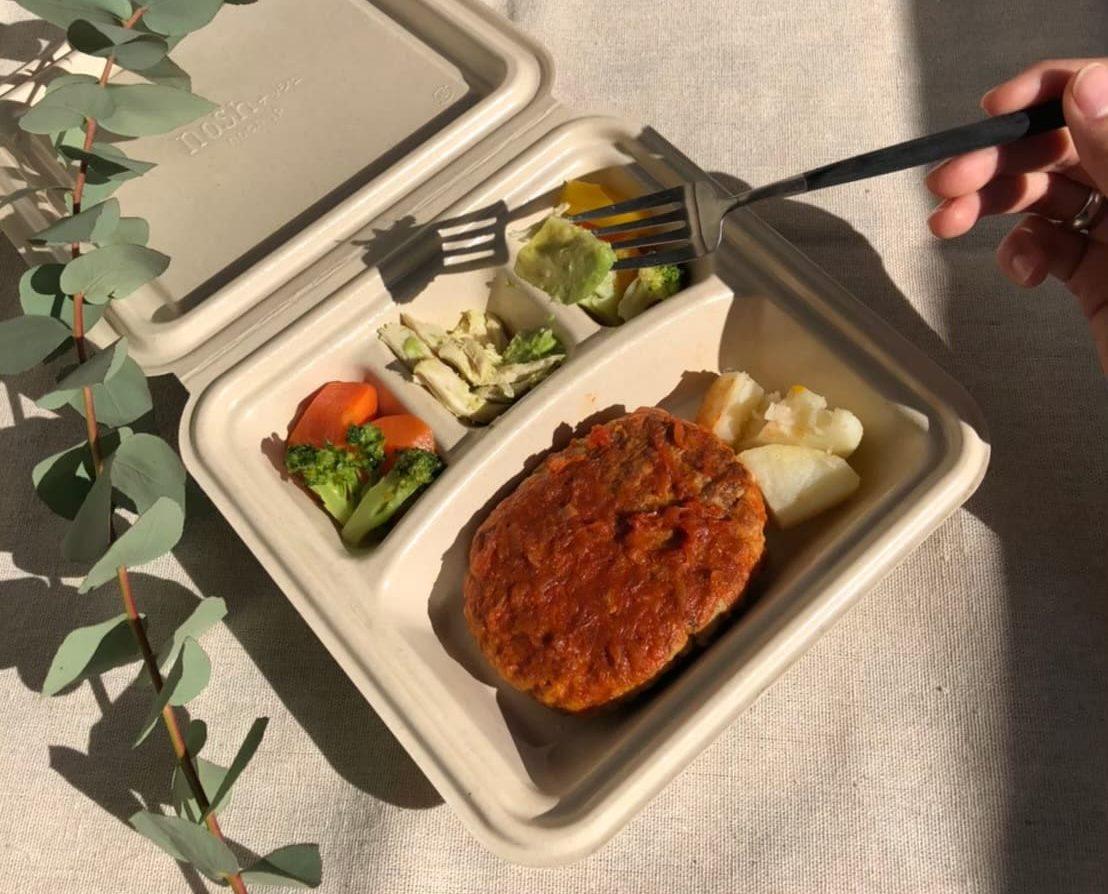 「UNDEUXの宅配食で食事改善」の画像