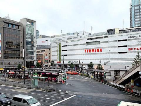 錦糸町駅前の画像