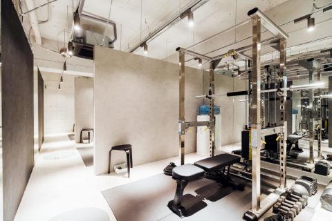 東京都内にあるパーソナルジム UNDEUXのスタジオ一覧のページの銀座ANNEX店の画像